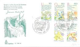 FDC VATICANO 1986 - Papas