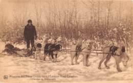 ESQUIMAU Inuit Nunangat Yukon Nunatsiavut Labrador Nunavut Alaska Trapeurs Musher Attelage Chiens Eskimo 2 FRCR90932 - Terre-Neuve & Labrador