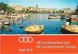 VIII Mediterranean Games 1979 SPLIT- Mediteranske Igre - Cartes Postales