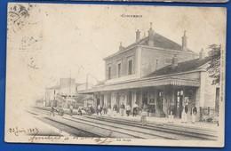 COMMERCY    La Gare    Animées       écrite En 1905 - Commercy