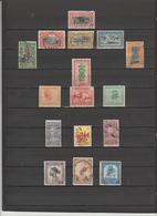 16 TIMBRES CONGO BELGE OBLITERES & NEUFS* DE 1886 à 1952 - 1923-44: Gebraucht