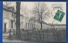 SAMPIGNY    Quartier De Cavalerie  4° Escadron Et Ateliers     écrite En 1911 - France