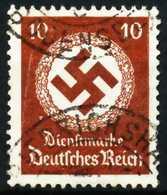 DEUTSCHES-REICH DIENST Nr 137 Gestempelt X64313E - Dienstpost