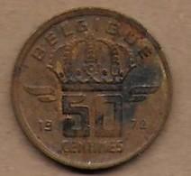 50 Centimes 1972 FR - 03. 50 Centimes