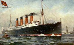 "Cunard White Star SS ""Mauretania"" - Steamers"
