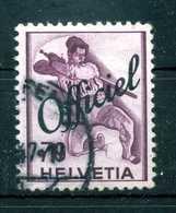 1942 SVIZZERA Servizio N.196 USATO - Servizio