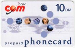 GERMANY Prepaid B-254 - InterCom - Used - GSM, Cartes Prepayées & Recharges