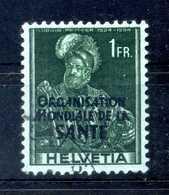 1948-50 SVIZZERA Servizio N.349a USATO - Servizio