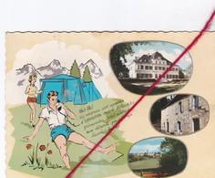 CP 46  -   LABASTIDE MURAT  -   Château De MURAT , Vue Générale Et Le Camping - France