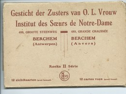 Gesticht Der Zusters Van OLV - Berchem Groote Steenweg - Antwerpen Anvers ( 12 Kaarten ) - Antwerpen