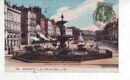 33. BORDEAUX . LES ALLEES DE TOURNY . Oblitération GARE SAINT JEAN TRANSBORDEMENT - Bordeaux