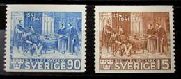 Suecia 287/8 * - Nuevos