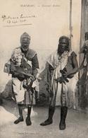 MAZAGAN (Maroc) - Musiciens Arabes - Types Gnawas - Cpa De 1915 - Très Bon état - Afrique