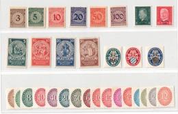 1924-1933, WEIMARER REPUBLIK: Interessantes Lot Sauber Ungebraucht Michel Ca. 140,- - Zonder Classificatie