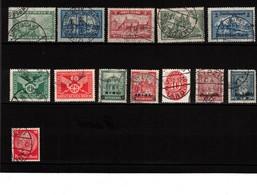 1924-1933, WEIMARER REPUBLIK: Interessantes Lot Sauber Gebraucht Michel Ca. 180,- - Briefmarken