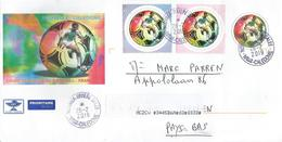Nouvelle Caledonie 2019 Rivière Salée World Cup Footbal France PAP Postal Stationary Cover - 1998 – Frankrijk