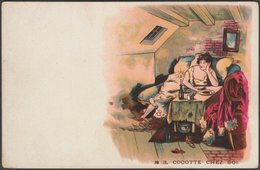Cocotte Chez Soi, C.1905 - CPA - Künstlerkarten