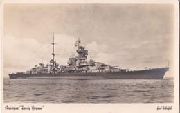 """Alte Ansichtskarte Kreuzer """"Prinz Eugen"""" 1 - Weltkrieg 1914-18"""