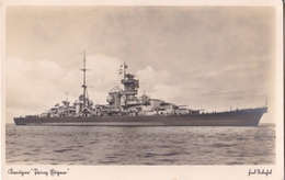 "Alte Ansichtskarte Kreuzer ""Prinz Eugen"" 1 - Guerre 1914-18"