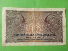 10 Korun 1927 - Cecoslovacchia