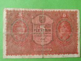 5 Korun 1919 - Tchécoslovaquie