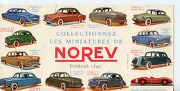 """BUVARD PUBLICITAIRE """"COLLECTIONNEZ LES MINIATURES NOREV 1/43è"""" - Kids"""