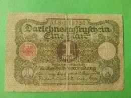 1 Mark 1920 - [ 3] 1918-1933 : Repubblica  Di Weimar