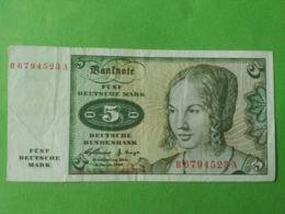 5 Mark 1960 - 5 Deutsche Mark