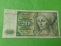 20 Mark 1980 - 20 Deutsche Mark