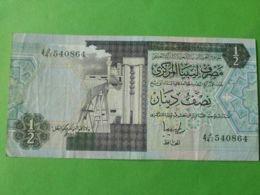 1/2 Dinaro 1981 - Libye
