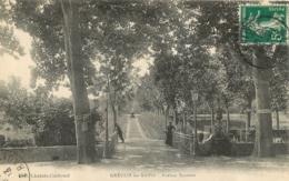 GREOUX LES BAINS  AVENUE SUZANNE - Gréoux-les-Bains