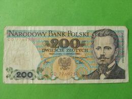 200 Slotych 1982 - Polonia