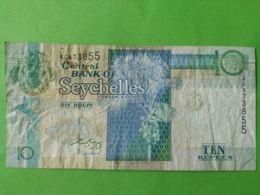 10 Rupeesw - Seychellen