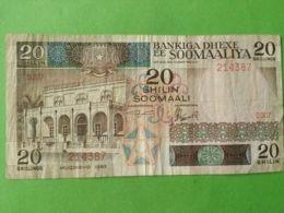 20 Shilling - Somalie