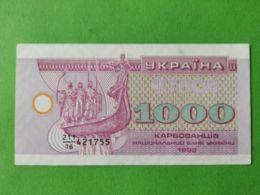 1000 Hryvnia 1992 - Ucraina