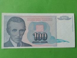 100 Dinara 1994 - Jugoslavia