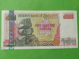 500 Dollars 2001 - Zimbabwe