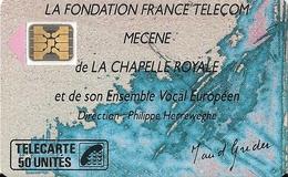LA FONDATION FRANCE TELECOM MECENE DE LA CHAPELLE ROYALE - Musik