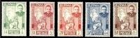 (11) Burma / Birmanie / Myanmar  1948  Independence / Unabhängigkeit  ** / Mnh  Michel 86-90 - Burma (...-1947)