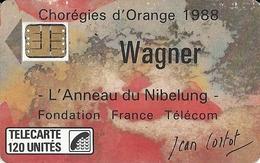 CHOREGIES D'ORANGE 1988 - WAGNER L'ANNEAU DE NIBELUNG - Muziek