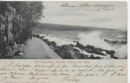 AK 0176  Am Strandweg Abbazia - Volosca Bei Bora Um 1904 - Kroatien