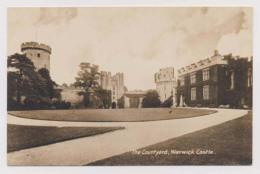 AK23 The Courtyard, Warwick Castle - Warwick