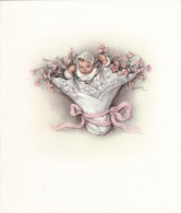 AN79 Greetings Card - Welcome To The New Baby - Picture Cards