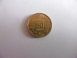 (A231)-MAROC-PIECE DE 50 CENTIMES 1364/1945 - Maroc