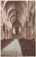 AP38 The Nave, Looking East, Exeter Cathedral - Exeter