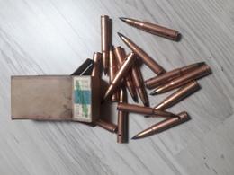 Boîte De Cartouches Allemande - Armes Neutralisées