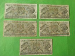 500 Lire 1966 5 Pezzi - 500 Lire