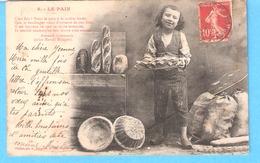 Métier-Artisan Boulanger-Le Pain à La Croûte Dorée-Poème D'Armand Gaboriaud-1904-Phototypie A.Bergeret, Nancy - Kunsthandwerk