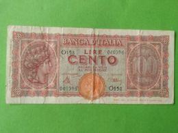 100 Lire 1944 - [ 2] 1946-… : République