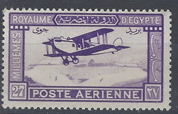 Egipto Aereo 001 * Charnela. 1926 - Luchtpost